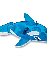 The water clear blue whale swimming baby toy horse children BB Inflatable Animal by boat