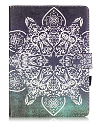 Для Бумажник для карт / со стендом / С узором Кейс для Чехол Кейс для Other Мягкий Искусственная кожа Apple iPad Air 2 / iPad 4/3/2
