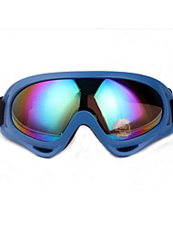 Colorful Outdoor Sports Motorcycle Riding Glasses CS Windproof Goggles Mirror X400 Ski Goggle