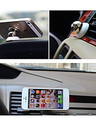 Magnet navigation support vehicle magnetic suction mobile phone holder 306 degree rotating air outlet support
