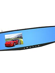 vue arrière du véhicule enregistreur miroir hd ultra mince voiture bleue de la lumière véhicule cadeau d'assurance
