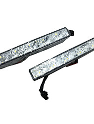 2pcs conduit DRL modèles de voitures 99% ip68 super brillant imperméable résistance 10w LED haute performance DRL