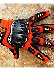 luvas de competência da motocicleta dedo cheio de verão selvagem da motocicleta passeio de luvas de dedos completos cavaleiro respirável