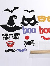 14Pcs Party Photo Booth Props Halloween Party MasksCool Costume Makeup
