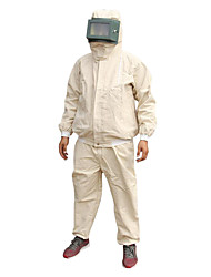 4 * 4-Piece Canvas Sandblasting Service / Labor Protective Clothing / Play Sand Clothing / Painting Clothes