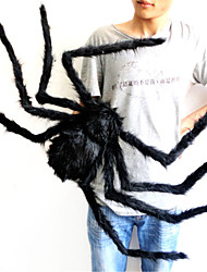 75 cm Sized Spider Silk and Plush Halloween Props Spider Fun Halloween Party or Bar KTV Decorative Toys