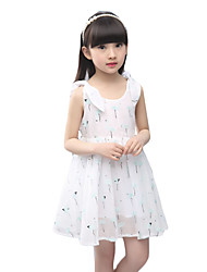 Girl's Casual/Daily Print Dress,Others Summer Multi-color