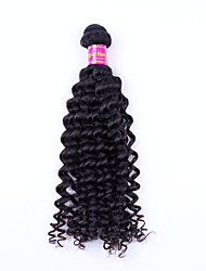 28Inch Deep Wave Hair Remy Human Hair  Weaves Virgin Unprocessed Hair