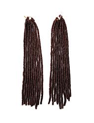 Поддельный LOCS mt1b / 350 синтетических волос вязания крючком косички 18inch 90g Kanekalon