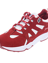 Women's Sneakers Spring / Summer / Fall Comfort Leatherette Outdoor / Athletic Flat Heel Lace-up  Fitness & Cross