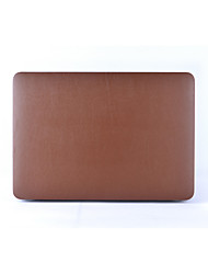 """Case for Macbook 13"""" Macbook Air 11""""/13"""" Macbook Pro 13""""/15"""" MacBook Pro 13""""/15"""" with Retina display Solid Color PU Leather Material"""