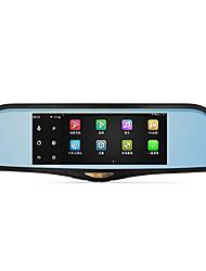 double lentille 1080p HD 7 pouces 170 degrés grand angle 12.0mp conduite enregistreur