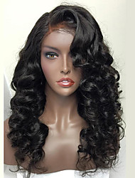 8A Brazilian Full Lace Human Hair Wig For Woman Wavy Human Hair Wigs With Baby Hair Full Lace Wig