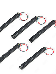 5PCS Fifth Three AA 4.5V Battery Elongate Box Without Cover Without Switching Means 3 AA Batteries