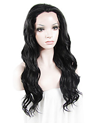 IMSTYLE 24Celebrity Long Water Wave Synthetic Lace Front Wigs Natural