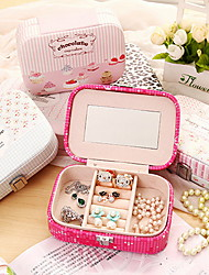 Jewelry Boxes Leather White