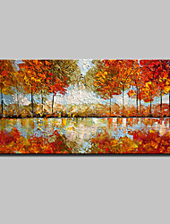 Large Size Hand Painted Modern Abstract Mangrove Oil Paintings On Canvas Wall Art With Stretched Frame Ready To Hang