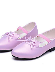 Tacón Plano-Bailarina Light Up Zapatos-Bailarinas-Informal-PU-Rosa Morado
