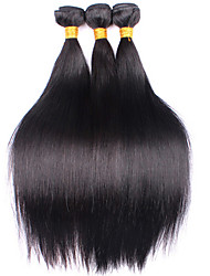 14-18'' 3Pcs/Lot Brazilian Virgin Hair Brazilian Straight Hair Unprocessed Brazilian Virgin Hair Straight