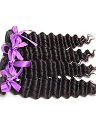 Menschenhaar spinnt Brasilianisches Haar Große Wellen 4 Stück Haar webt