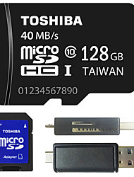Toshiba 4GB/8GB/64GB/128GB Class 10 Micro SD TF  Memory Card with SD  Adapter and Multi-function OTG USB Card Reader