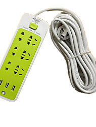 Intelligent USB Socket Socket With Switch Plug Row Of Multi-Function Power Strip Plug Power Strip