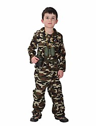 Soldiers Costume Cosplay Warrior Costume Children Costumes for Boys Childrens Fancy Dress