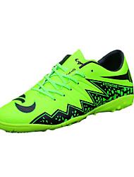 Femme-Sport-Vert / Gris-Talon Plat-Confort-Chaussures d'Athlétisme-Polyuréthane