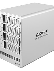 Orico 9548 Ru3 3.5 Inch Mobile Hard Disk Box Start External Disk Array Raid Disk Array Random Color