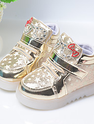 Sneakers Spring / Summer / Fall Heels Microfibre Casual Wedge Heel Others Red / Silver / Gold Others