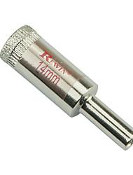 Rewin nástroj legovaných ocelí skleněné otvory otvírák díra velikosti 14mm 10ks / box