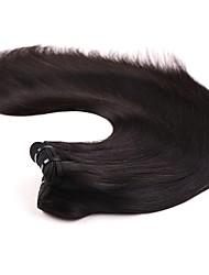neitsi 16 '' virgem malaio tramas cabelos lisos naturais preto 1b # baratos pacotes Remy cabelo humano tecer emaranhado grátis