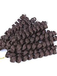 insufláveis tranças onda de crochet 6packs / lot havana mambo toque de 12 polegadas Kanekalon 6-8 pcs é cabeça cheia