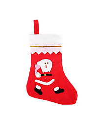Socks & Stockings Red Nonwoven Fabric Cosplay Accessories Christmas / Random Color