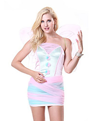 Costumes Movie & TV Theme Costumes Halloween Pink Print Terylene Dress / More Accessories