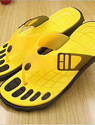 Men's Slippers & Flip-Flops Summer Sandals PVC Casual Flat Heel Others Yellow / Green / Red Others