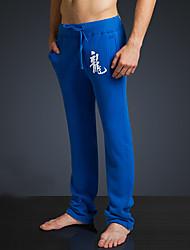 LOVEBANANA® Masculino Activo Calças Azul Real-34072