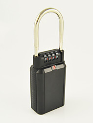 Password Padlock Key Storage Key Safe Box with 4-digit Combination Lock