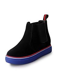 Autumn/winter fashion thick sponge flat single shoes since the help
