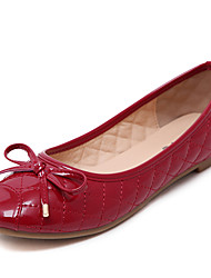 Women's Flats Spring / Summer / Fall Square Toe / Closed Toe / Flats  Casual Flat Heel Bowknot Walking