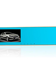 E X10 Anti Pengci Anti Glare Rearview Mirror Tachograph Double Wide-Angle Lens HD Parking Monitor