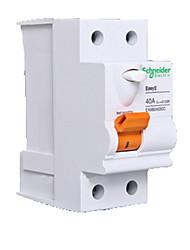 Schneider vazamento ea9b24030c 40a interruptor de 2p
