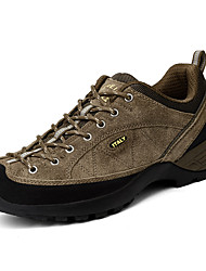 Men's Sneakers Spring / Fall Comfort / Round Toe PU Outdoor Flat Heel Lace-up Black / Blue / Khaki