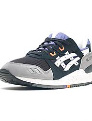 Asics Gel Lyte III Womens Running Sneakers Athletic Trainers Tennis Shoes Purple Grey Black