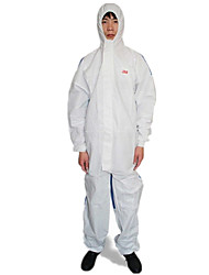 White Hat And Conjoined Protective Clothing