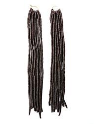 / 30 cheveux synthétiques tresses crochet 18inch 90g de kanekalon de locs faux