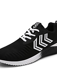 Men's Fashion Sports Shoes Microfiber Tulle Sneakers Running Breathable Shoes