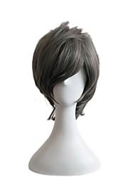 новый парик COS мертвые мэй загар нейтральные Harajuku мужчина гей мужчина модель ежедневно парик 6 дюймов