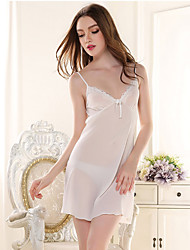 Girl & Nice® Feminino Chifon Robes-P8033