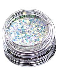 1 bottle Unha Arte Decoração strass pérolas maquiagem Cosméticos Prego Design Arte